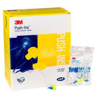 (Case of 10 boxes) 3M Yellow Uncorded Earplugs in polybag Class 4 SL80 23dB (200 pairs per box) (70071515673)