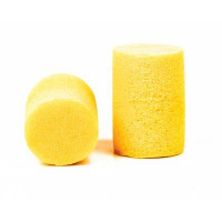 (Case of 10 boxes) 3M Yellow Uncorded Earplugs in Polybag Class 4 SLC80 23dB (200 pairs per box) (70071515871)
