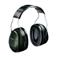 (Case of 10 boxes) 3M Green Headband Format Earmuffs Class 5 SLC80 30dB (1 pair per box) (70071516226)