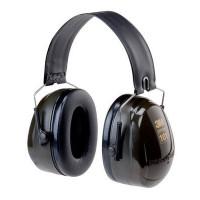(Case of 10 boxes) 3M Green Folding Headband Format Earmuffs Class 5 SLC80 31dB (1 pair per box) (70071516309)