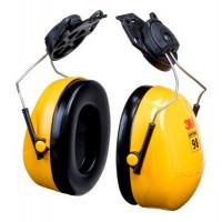 (Case of 10 boxes) 3M Yellow Helmet Attachment Format Earmuffs Class 4 SLC80 24dB (1 pair per box) (70071516333)