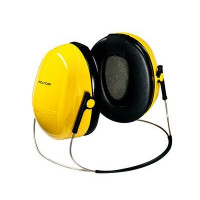 (Case of 10 boxes) 3M Yellow Neckband Format Earmuffs Class 4 SLC80 24dB (1 pair per box) (70071516374)