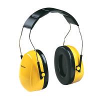(Case of 10 boxes) 3M Yellow Headband Format Earmuffs Class 4 SLC80 24dB (1 pair per box) (70071516390)