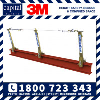SecuraSpan Temporay Horizontal Lifeline Wire Cable System 15m