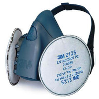 3M Large Half Facepiece Reusable Respirator (7503) + 2125 P2 Filter