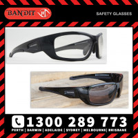 Bandit III MAVERICK Safety Glasses - Black Frame Photochromatic (Cat 1 to 3) Lens (8105SBPHGC13)