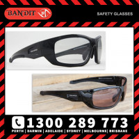 Bandit III MAVERICK Safety Glasses - Black Frame Photochromatic (Cat 0 to 2) Lens (8105SBPHGC)