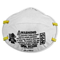 (Case of 8 boxes) 3M P2 Cupped Particulate Respirator - Small (8110S)