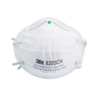 (Box of 20) 3M P2 Cupped Particulate Respirator (8205)