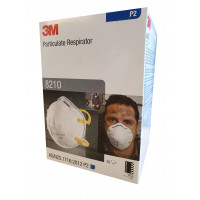 3M P2 Cupped Particulate Influenza Respirator N95 (8210) PK=20, NO Confirmed ETA