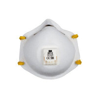 (Case of 8 boxes) 3M P1 Cupped Particulate Respirator with valve (8312)