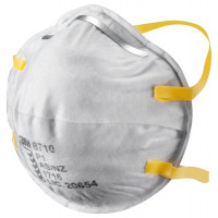 (Case of 8 boxes) 3M P1 Cupped Particulate Respirator (8710)