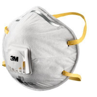 (Box of 10) 3M P1 Cupped Particulate Respirator with valve (8812),Respiratory Products. NO Confirmed ETA.. Expect delays