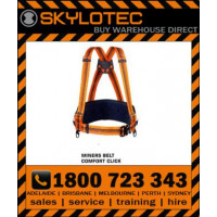 Skylotec Miners Belt Comfort Click with adjustable braces click buckle steel back pad & equipment straps (ACS-0187-C)