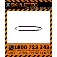 Skylotec attachment sling Loop 35 kN - Top stitched BLACK hose strap 25mm wide