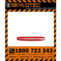 Skylotec attachment sling Loop 26 kN - Top stitched RED hose strap 25mm wide