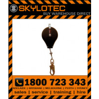 Skylotec HSG HK - SRL 5m, 5mm galcable with impact indicating swivel d_action 45kN steel snap hook, 23mm gate, 15kN side load (FASK HSG-002-5)
