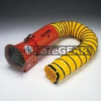 8 AC Axial Blower with Canister 15ft Ducting (VentAl 9514 WSG)