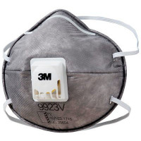(Case of 6 boxes) 3M P2 Particulate, Nuisance Vapours & Odours Respirator with valve (9923V)