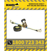 Beaver 25mm X 5m Multi Purpose Ratchet Tie Down Assembly (349025rb)
