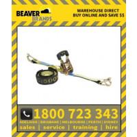 Beaver 25mm X 5m Multi Purpose Ratchet Tie Down Assembly (349025rb)