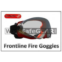 Bandit III FRONTLINE FIRE Heat Protection Safety Goggles (109-Frontline-Fire)