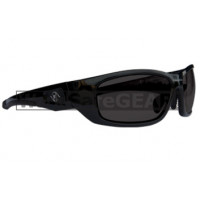 Bandit III Maverick Polarised Safety Glasses Eye Protection Specs Black Frame, Smoke Lens (8105SBPS-Polarised)