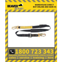 Beaver 1.5mtr Pole Strap Adjustable With 2 Double Action Hook (Bp02111.5)