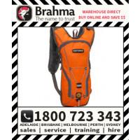 Brahma Caribee Flow Hiviz Hydration Back Pack 2L Orange Drink Water Bladder Bag (6322)