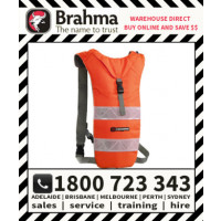 Brahma Caribee Hi Vis Nuke Hydration Back Pack 2L Orange Drink Bladder Bag (6324)