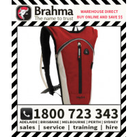 Brahma Caribee Hydra Hydration Back Pack 1.5L Red/Silver