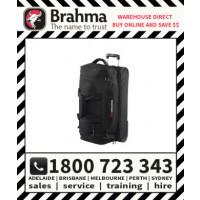 Brahma Caribee Scarecrow Trolley Travel Duffel Bag All-Terrain Luggage 100L Black (5742)