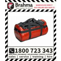 Brahma Caribee Waterproof Kokoda Gear Bag 65L Red (58061)