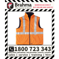 Brahma Platinum Flame Retardant Anti-Static Safety Vest with Reflective Tape
