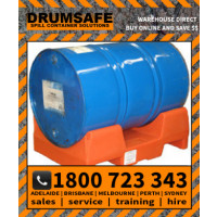 DRUMCRADLE - SIDE ENTRY Drumsafe Spill Prevention Secondary Containment