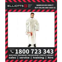 Elliotts Aluminised PREOX UNLINED CLOSED BACK SMOCK Furnace FR Welding Protective Clothing Workwear (APS50U)
