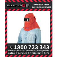 Elliotts Big Red Leather CONFINED SPACE WELDING HELMET (BRH29C)
