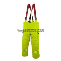 Elliotts E Series Firefighting Trousers NOMEX 3D LIME Thermal Lined Fire Resistant Protection Workwear