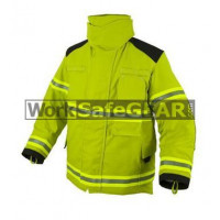 Elliotts X Series Firefighting Coat NOMEX 3D LIME HEAVY DUTY REINFORCED Thermal Lined Fire Resistant Protection Workwear