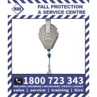 18m IKAR Fall Arrest Block SRL inertia reel controlled descent device HAS18 Rated 136kg/300lbs
