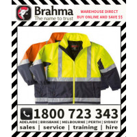 Transport Jacket HiVis with Reflective Tape