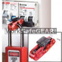 Miniature Circuit Breaker Lockout (Black Tab) - Standard Toggles (LO M S2390 WSG)