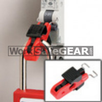 Miniature Circuit Breaker Lockout (Pins Inward) (LO M S2392 WSG)