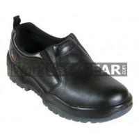 Mongrel Black Slip-On Shoe Work Boot Victor Footwear Shoe (915025)