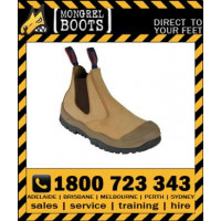 Mongrel Boots 440050 Wheat Elastic Sided Boot SC-Scuff Cap Series