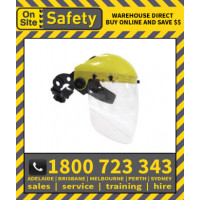 On Site Safety 0SS3A Brow Guard with 2mm Antifog Shield