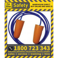 On Site Safety 100 Corded Disposable Class 5 27dB Ear Plugs