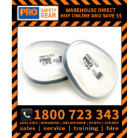 P2 Filter Cartridges for HMTPM Half Mask (Pair) (RESPRO PCP2 WSG)