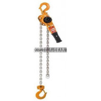 PWB Anchor L5 Lever Hoist with Overload Limiter Lifing & Rigging 1tonne x 1.5m lift