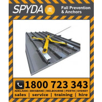 SPYDA Temp Roof Anchor Point 15kN Rated CLAMP & SCREW FIX